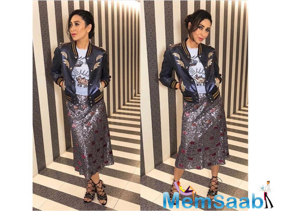 Karisma Kapoor might not be seen on the big screen anymore as much as we would like to spot her, however, she makes sure to stay put in our style books by giving us looks to love.