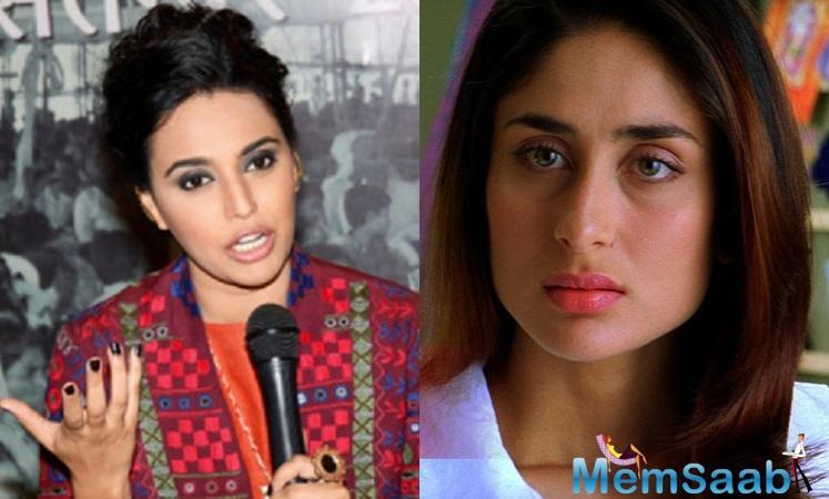 Swara slammed the Twitter user for spreading hate.