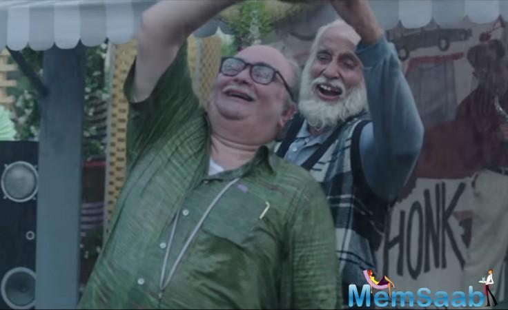 Shukla says that with a powerful script in hand, it didn't take much to convince the senior actors to be part of 102 Not Out.