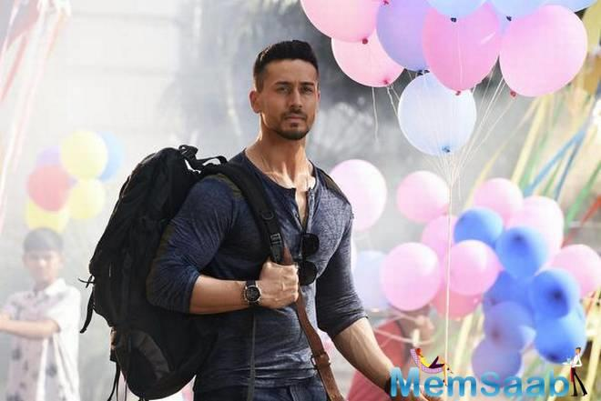 Right from the opening scene to his powerpack action scenes Tiger Shroff is gaining a roaring response from his fans to breakout with cheers and whistles every time Tiger makes a punch.