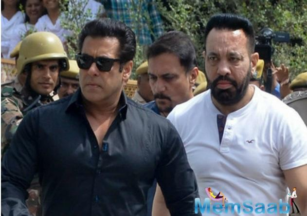 Bollywood actor Salman Khan has been granted permission to travel abroad for his upcoming film's shooting by the Jodhpur District and Sessions Court .
