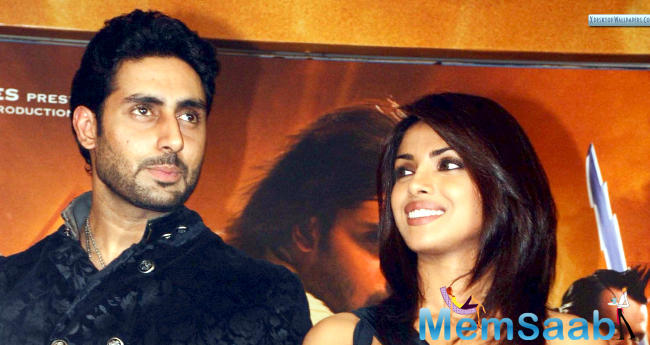 According to reports, Priyanka and Abhishek met the director for narration.