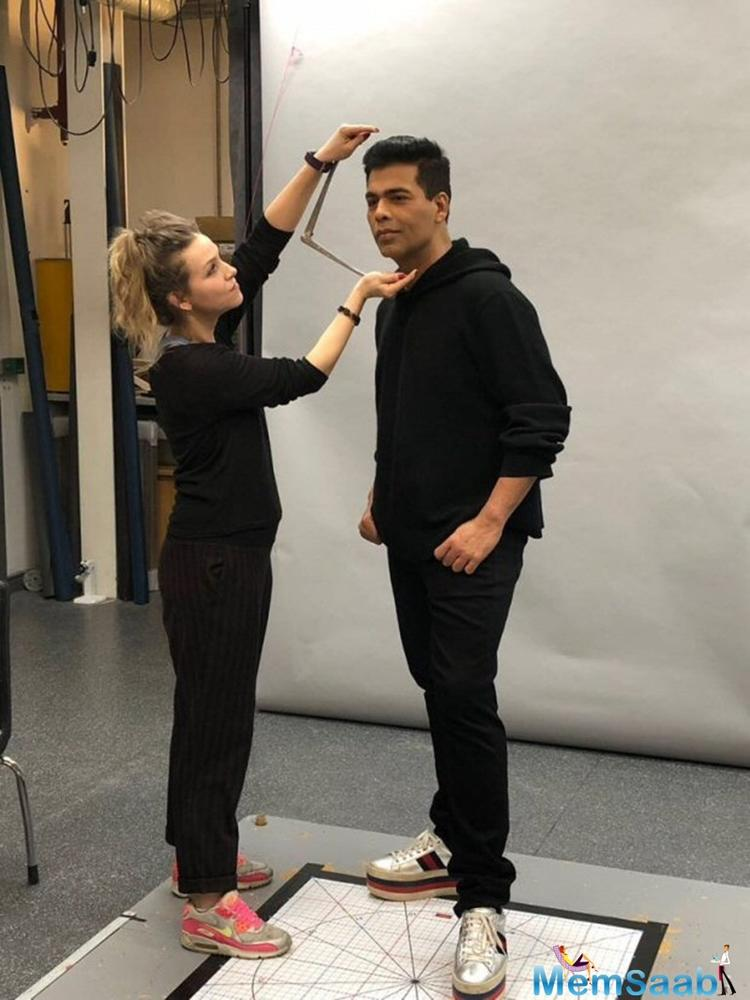 Joining his peers of Bollywood, Karan Johar will now have his wax statue at Madame Tussauds later this year.