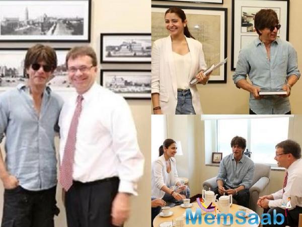 SRK and Anushka Sharma to shoot at U.S. Space & Rocket Center for 'Zero'