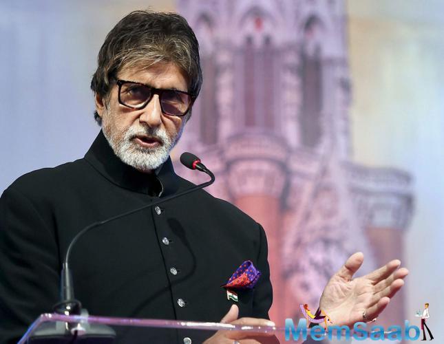 Amitabh Bachchan has been the brand ambassador for 'Beti Bachao Beti Padhao' since a long time.