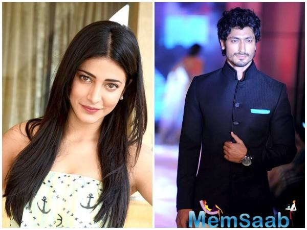 Shruti Haasan is back! The actress is set to star on the silver screen again.