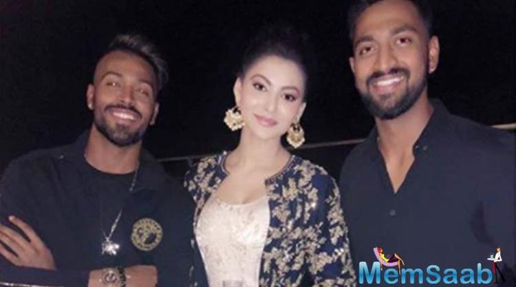 Urvashi and Hardik Pandya were introduced to each other through a common friend and they hit it off instantly.