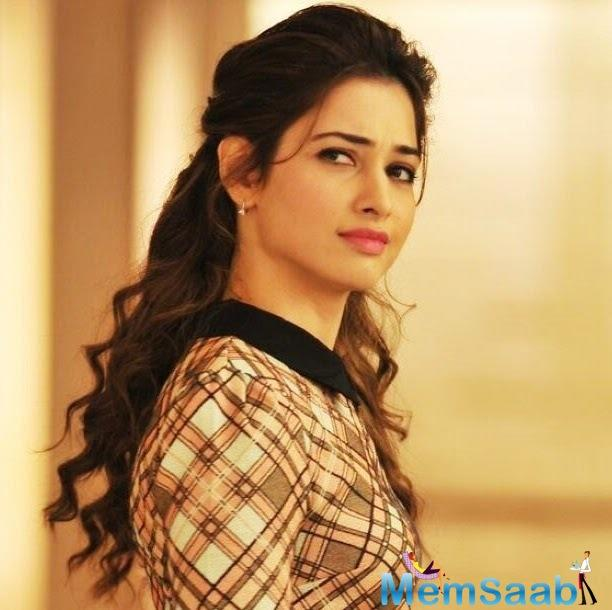 In the film, Tamannah will be seen playing a deaf-mute girl.