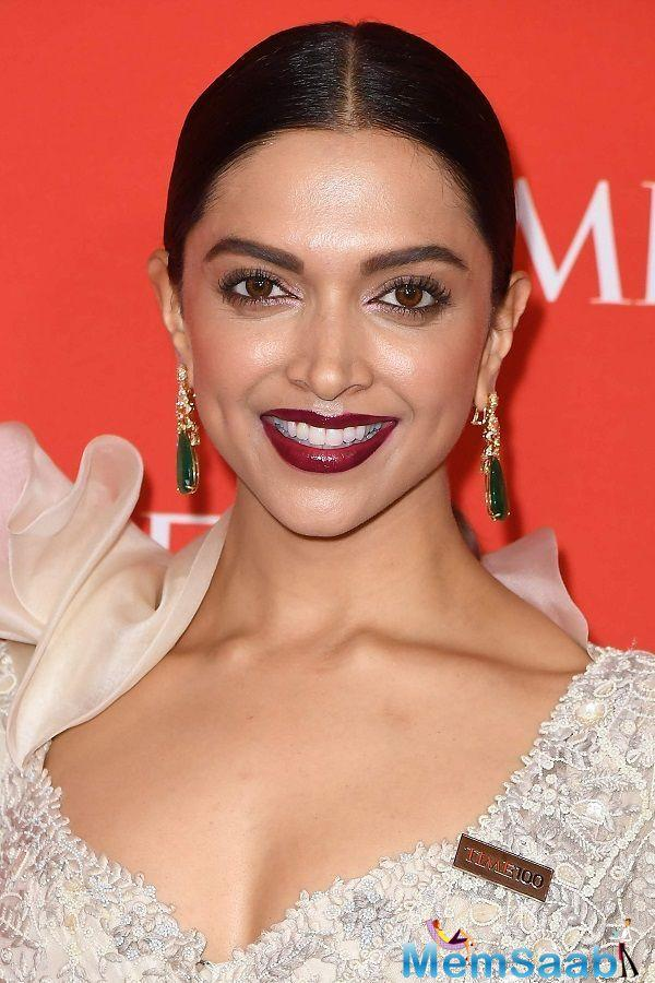 Deepika Padukone, at the TIME 100 gala, spoke to Time magazine about the need for confidence among women to ask for better pay.