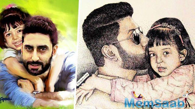 Since Abhishek Bachchan is busy shooting for his upcoming film, Manmarziyaan, the actor has been staying away from his family for the past two months.