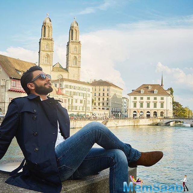 Switzerland, the country known for its rich culture and traditions welcomed their favourite traveller actor Ranveer Singh back, in a grand way.