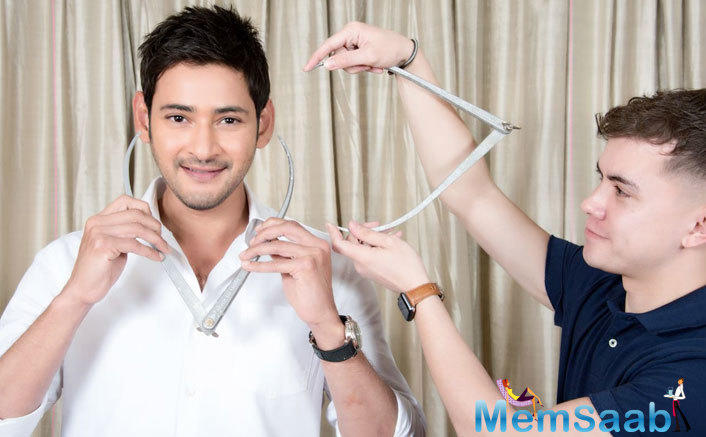 Mahesh Babu took to his social media sharing the news with everyone.