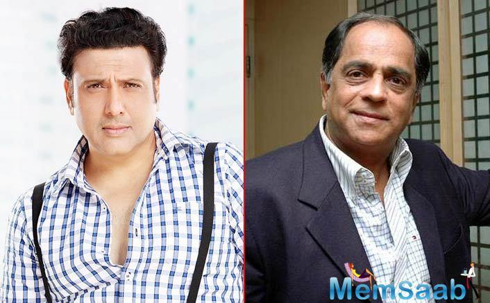 """Giving details of the project Nihalani said: """"It is titled Rangeela Raja and it's an out-and-out comedy."""