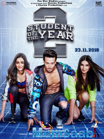 Tiger Shroff digs into a chocolate cake on the set of Student Of The Year 2 while co-actors Tara Sutaria and Ananya Panday beat the cold.