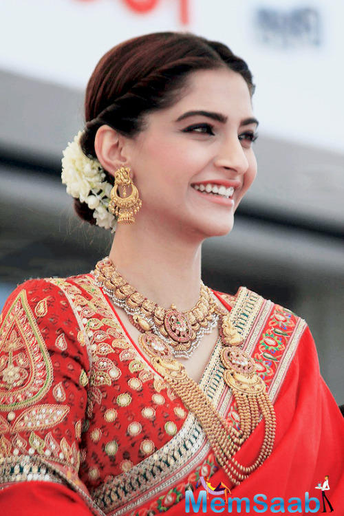 From among Sonam's colleagues in the film industry, Jacqueline Fernandez, Swara Bhaskar and the rest of the cast of Sonam's new film Veere Di Wedding are expected to show up in full force.