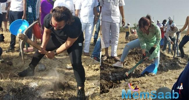 The 'Dear Zindagi' star had announced her involvement in the shramdaan for this year on Twitter.