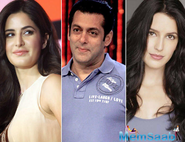 News reports had earlier claimed that Salman Khan was least interested in promoting Katrina Kaif's sister Isabelle's career.