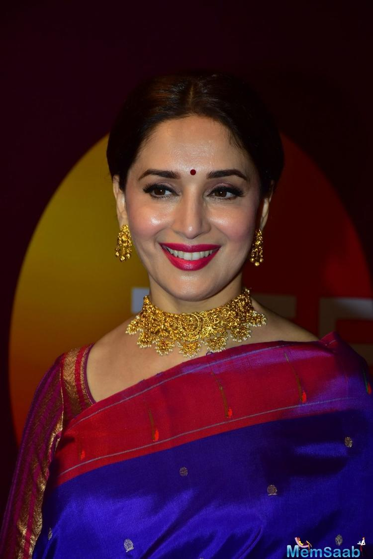 Spending over three decades in the industry hasn't taken away from Madhuri Dixit-Nene's enthusiasm in trying her hand at something new.