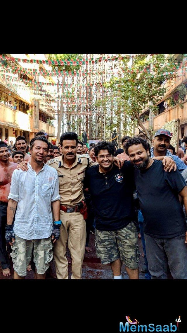 Actor Manoj Bajpayee has wrapped up shooting for his upcoming film Satyameva Jayate.