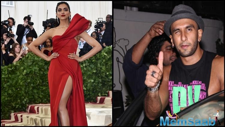 Meanwhile, marriage rumours for Ranveer and Deepika are filling up Bollywood gossip columns.