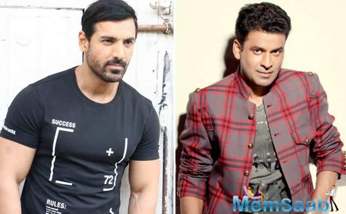 Actor John Abraham says it was an honour for him to work with National Award-winner Manoj Bajpayee in Satyameva Jayate.