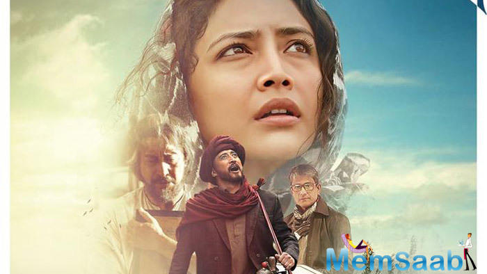 Missing Rabindranath Tagore's birth anniversary by two days, the makers of Bioscopewala have released the first trailer of the film online.