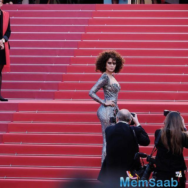 Bollywood divas Deepika and Kangana took their glamour quotients to its peak with a classy red carpet appearances at the Cannes Film Festival on Friday.