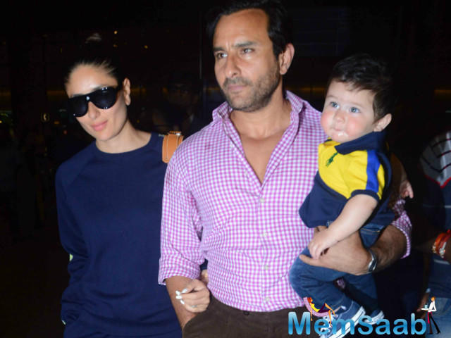 Kareena Kapoor and Saif Ali Khan's little man Taimur is already a celebrity in the eyes of the paparazzi.