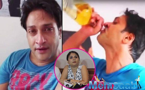 The video, which surfaced on social media on Sunday evening, shows Kumar in an inebriated state feeling sorry about the way his life and career shaped up