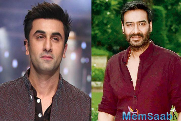 After a lot of speculation, Now it's confirmed Ranbir Kapoor and Ajay Devgn to do a film together.