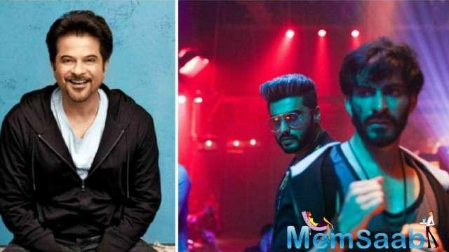 According to the makers, it was Harshvardhan's father actor Anil Kapoor's idea to rope in Arjun for the high-energy song, which released yesterday.