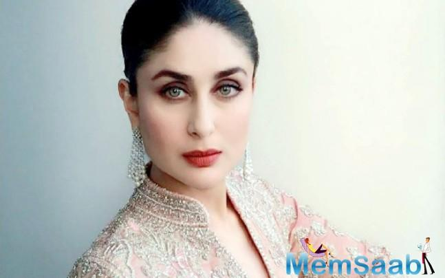 "For Kareena the experience of being a mother has been overwhelming with love but ""love is only the foundation on which we build the future of the child,"""