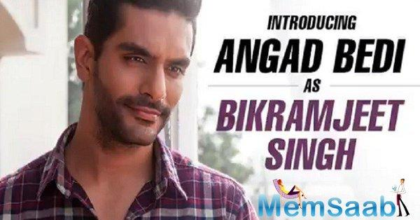 The makers of 'Soorma' tweeted the motion poster for the character of Bikramjeet Singh which is played by Angad Bedi.