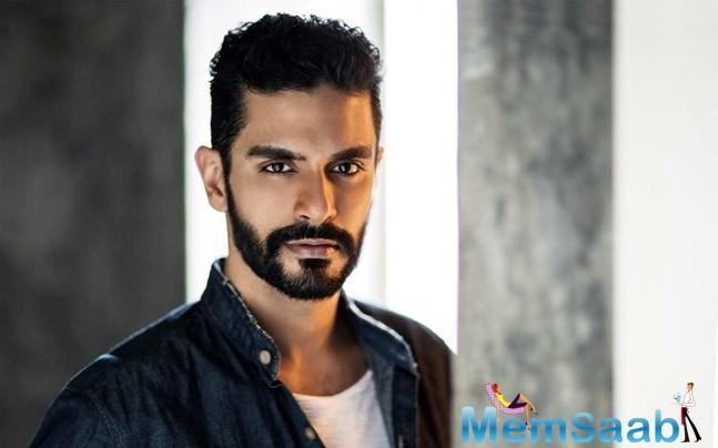 The new motion poster of Soorma revealed Angad Bedi's look as hockey player Bikramjeet Singh