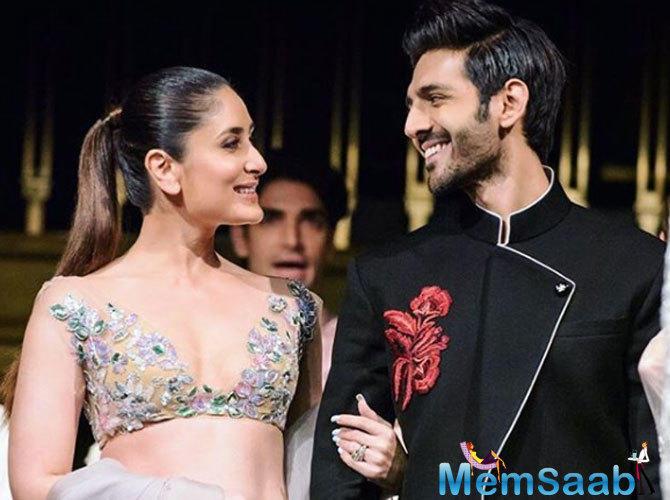 Kareena Kapoor Khan to romance Kartik Aaryan in a Karan Johar film?