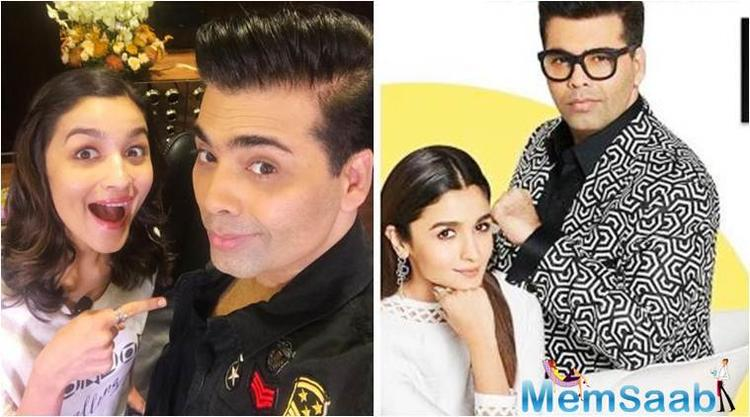 "Commenting on the actress's budding, but already impressive career, Karan said, ""I feel proud of Alia, who has performed in about eight films for Dharma Productions."