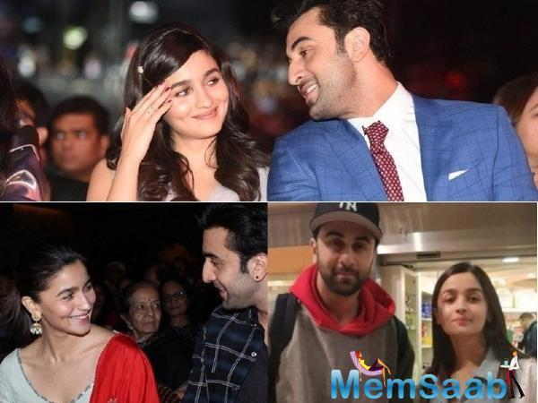 Alia Bhatt and Ranbir are working on their upcoming project, which is titled, 'Brahmastra.
