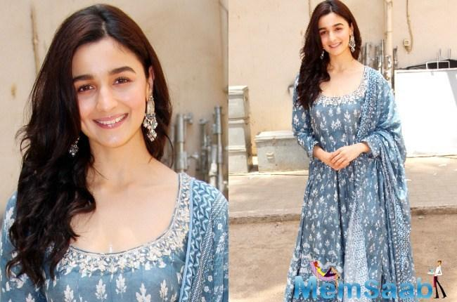 During the Raazi shoot, Alia had only one opportunity to do some sightseeing