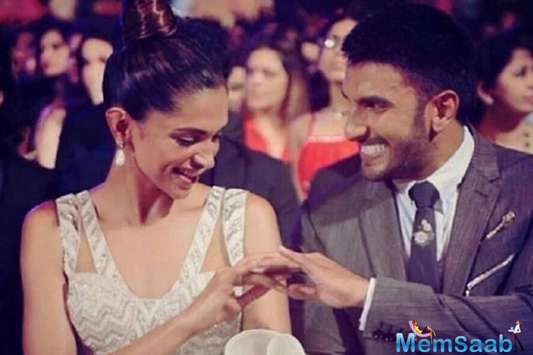 "In an interview with Filmfare Middle East, Deepika said, ""Ranveer Singh is dependable, trustworthy and my go-to person."""