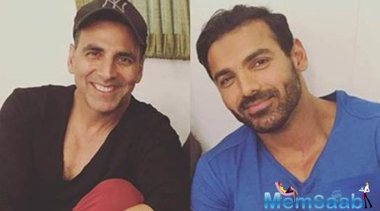 Akshay Kumar and John Abraham were also seen in Rohit Dhawan's urban-comedy Desi Boyz and their chemistry was appreciated by one and all.
