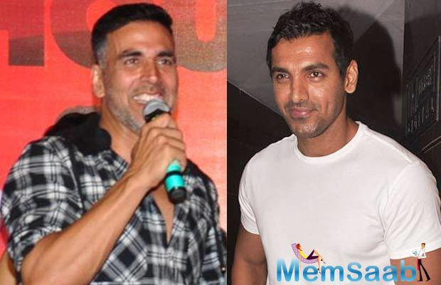 John Abraham is busy with the promotions of his upcoming film Parmanu – The Story Of Pokhran and also prepping up for Satyameva Jayate with Manoj Bajpayee.