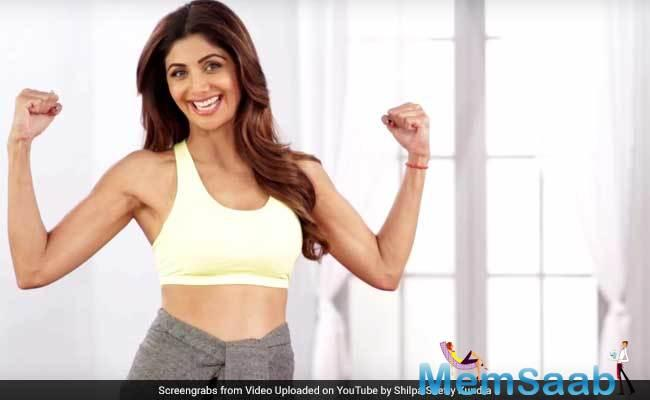 Shilpa Shetty Kundra has featured in the list of '30 Top Health and Fitness Influencers in India' by a leading platform in fitness.