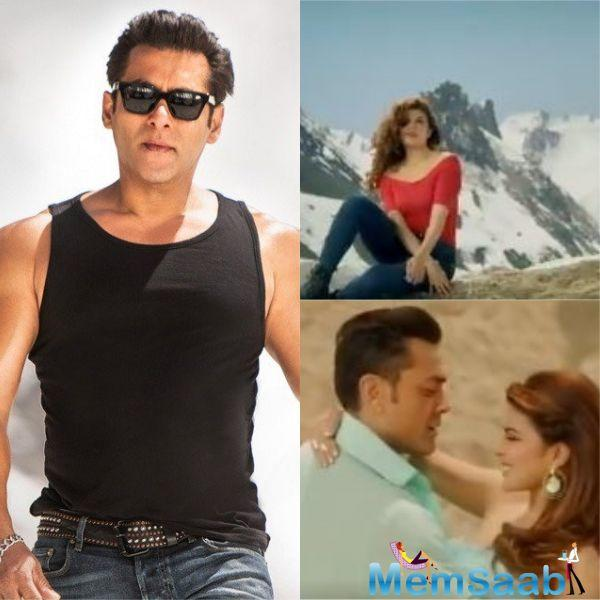 The teaser of 'Selfish' is out now and the song, where Jacqueline will be seen romancing both Salman and Bobby Deol, will be out tomorrow.
