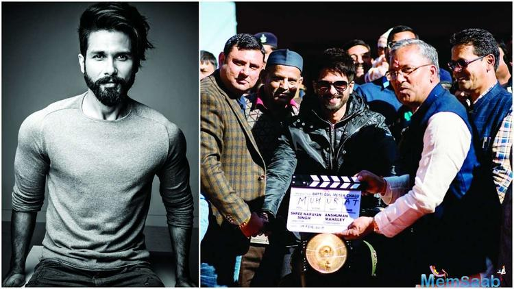 """""""Shahid's quest for perfection means the meter will be chalu for producers till he okays things."""