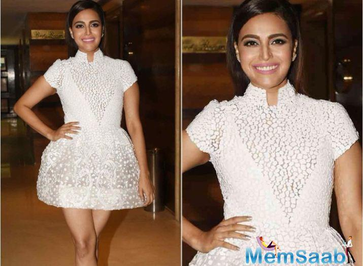 Swara Bhasker has knocked off several kilos. The weight loss is noticeable and was inspired by Veere Di Wedding co-actor Kareena Kapoor Khan who got back into svelte shape after pregnancy.