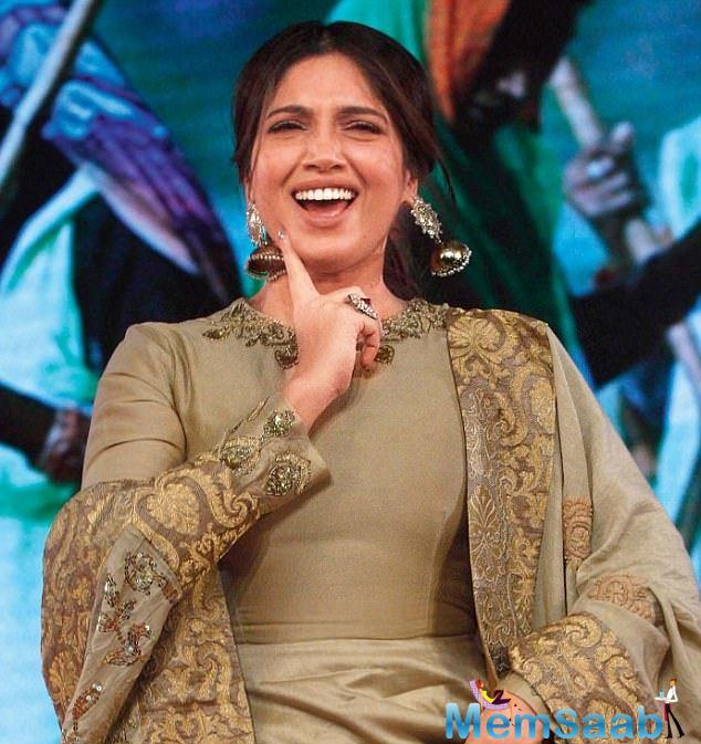 Bhumi Pednekar flew to New Jersey for a meet and greet event at the Asian American Heritage Festival in New Jersey.