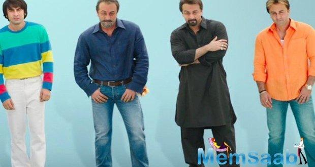 While instances from his love life made headlines in the 80's, 90's and millennial, the film promises to present the lesser known instances of Sanjay Dutt's trysts.