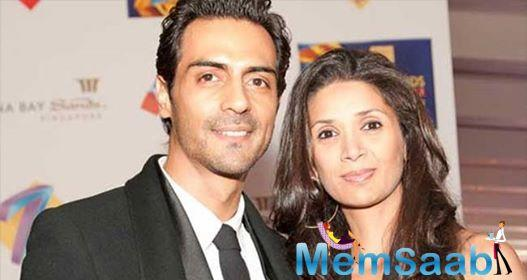 The rumours about the split of Arjun Rampal and Mehr Jesia have been doing rounds for quite some time now.