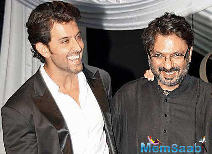 Industry sources say Sanjay Leela Bhansali caught up with Hrithik Roshan recently.
