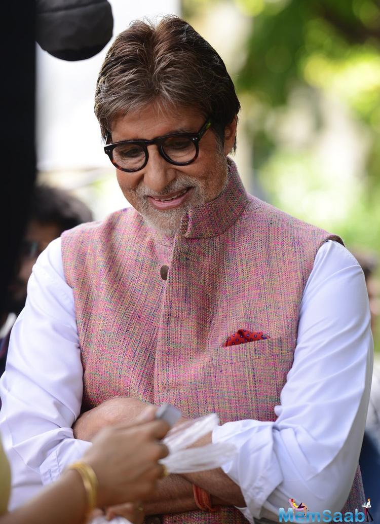 Bollywood megastar Amitabh Bachchan has come on board to front a campaign to address the issues of malnutrition, stunting and infant mortality.